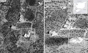 ΗΠΑ: Το Πεντάγωνο έδωσε στη δημοσιότητα εικόνες από την επίθεση κατά του αλ Μπαγκντάντι (vid)