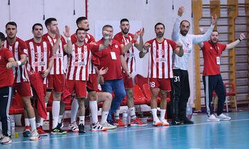 Handball Premier: Τα ματς του Ολυμπιακού που θα μεταδοθούν τηλεοπτικά μέχρι το τέλος του α΄ γύρου