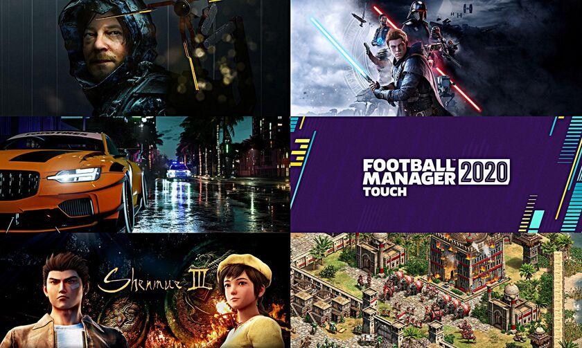 Νοέμβριος 2019: Οι νέες κυκλοφορίες στα Games!