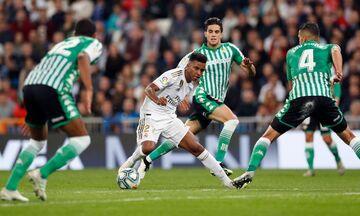 La Liga: «Κόλλησε» στο 0-0 με τη Μπέτις η Ρεάλ Μαδρίτης (highlights)