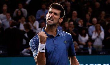 Paris Masters: Ο Τζόκοβιτς 2-0 τον Ντιμιτρόφ προκρίθηκε στον τελικό (vid)