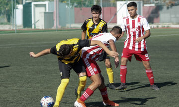 Super League K15: Στον Ολυμπιακό το ντέρμπι, 1-0 την ΑΕΚ