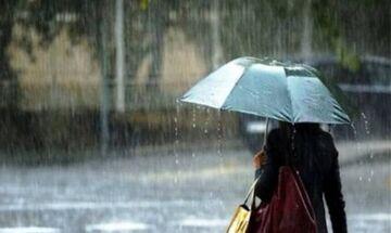 Ο καιρός: Βροχές και καταιγίδες «ντύνουν» το σκηνικό