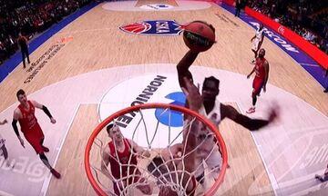 EuroLeague: Το poster dunk του Μπράντον Πολ με την ΤΣΣΚΑ στο Νο1 (vid)