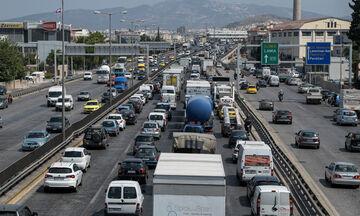 Κηφισός: Μποτιλιάρισμα χιλιομέτρων στο ρεύμα προς Πειραιά λόγω έργων