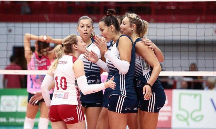 Ολυμπιακός: Έτοιμος για την ευρωπαϊκή πρεμιέρα στο Challenge Cup γυναικών