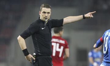 Ο Ματίας Γκεστράνιους διαιτητής στο Παναθηναϊκός - ΑΕΚ