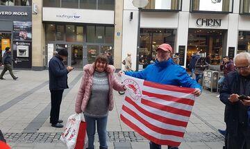 Μπάγερν - Ολυμπιακός: Κοκκίνισε το Μόναχο (vids)