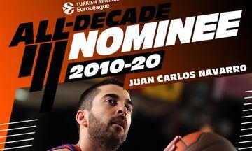 Euroleague: Και ο Ναβάρο υποψήφιος για την ομάδα της δεκαετίας!