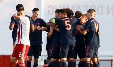 Youth League: Μπάγερν - Ολυμπιακός 6-0: Με δυο πέναλτι και δέκα παίκτες!