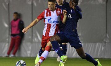 Youth League: O Eρυθρός Αστέρας δάμασε 2-0 την Τότεναμ