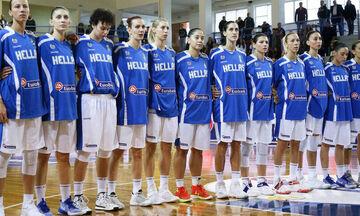 Εθνική μπάσκετ γυναικών: Παρέμεινε στην 13η θέση της FIBA