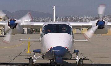Η NASA παρουσίασε το πρώτο ηλεκτρικό αεροπλάνο της