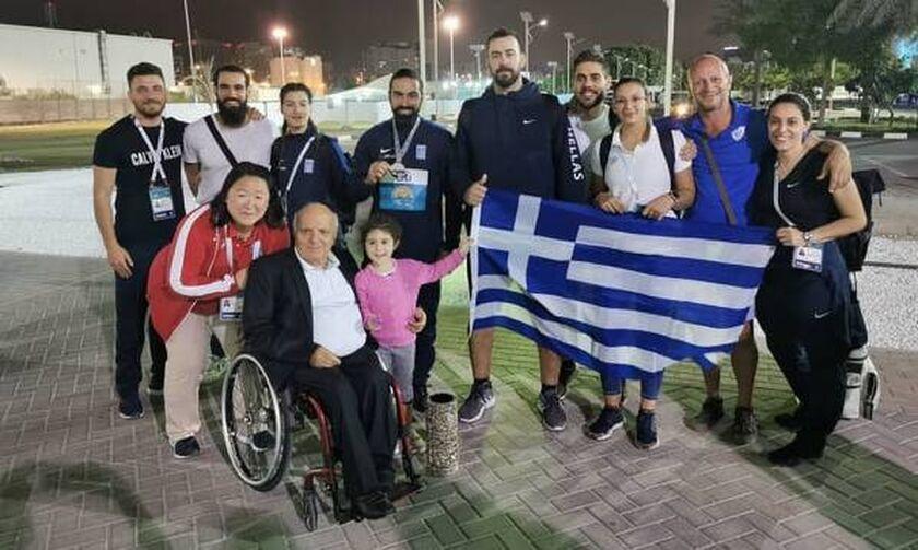 Παγκόσμιο πρωτάθλημα στίβου ΑμεΑ: Τρία μετάλλια για την ελληνική ομάδα!