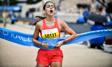 Μαραθώνιος Αθήνας: Νικητές στα 5 χλμ. Αναγνώστου και Μαρινάκου (vid)