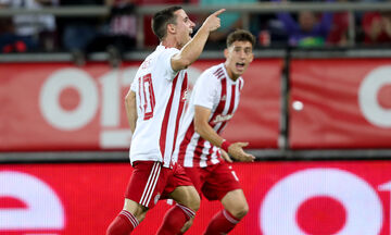 Ολυμπιακός - Ατρόμητος 2-0:  Τα highlights του αγώνα (vids)