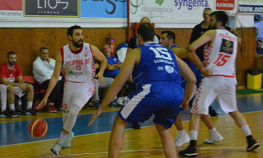 Α2 μπάσκετ: Ο Φίλιππος Βέροιας 85-77 την Καρδίτσα