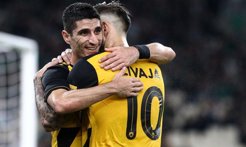 Παναθηναϊκός - ΑΕΚ: Το γκολ του Ολιβέιρα για το 0-2 (vid)