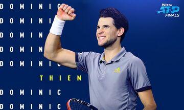 ATP Finals: Φουριόζος Τζόκοβιτς, ο Τιμ νίκησε τον Φέντερερ - Nτεμπούτο Τσιτσιπά σήμερα (11/11) (vid)