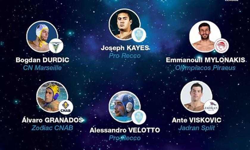 Πόλο Champions League: Στην καλύτερη επτάδα ο Μυλωνάκης του Ολυμπιακού (pic)
