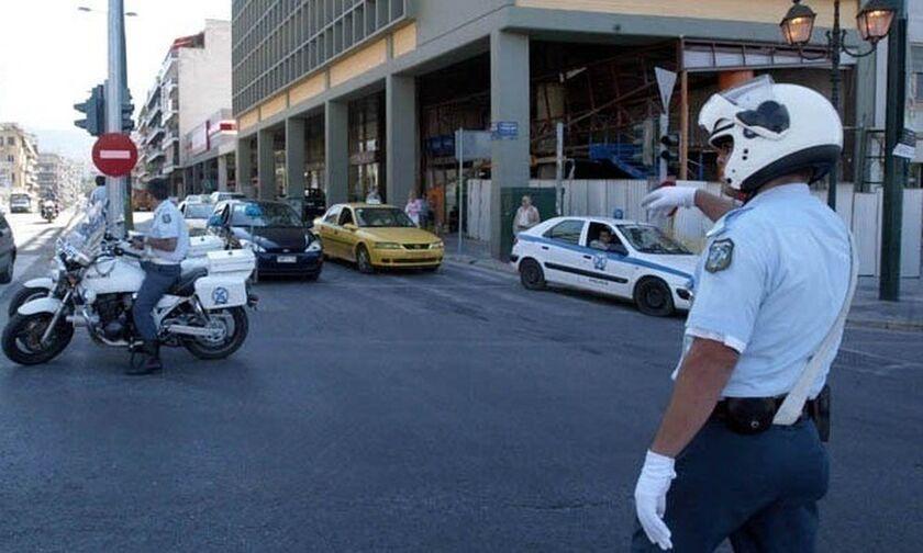 Κυκλοφοριακές ρυθμίσεις και σήμερα στην Αθήνα