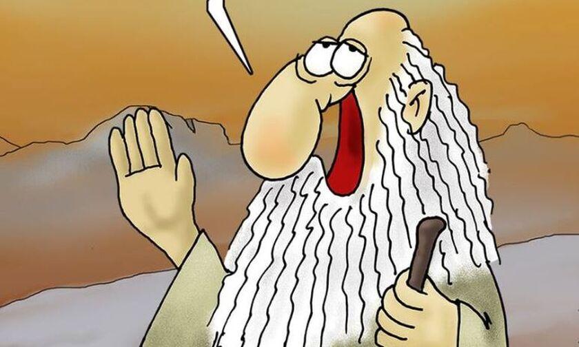Το σκίτσο του Αρκά για τα όσα συμβαίνουν τελευταία στην Ελλάδα