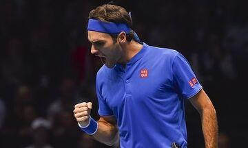 ATP Finals: Παράμεινε «στο κόλπο» ο Φέντερερ, νίκησε τον Μπερετίνι (vid)