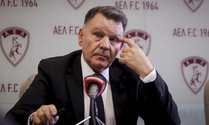 O Kούγιας αποκλείει το 0-3 στο ΑΕΛ - Λαμία να είναι στοιχηματική απάτη