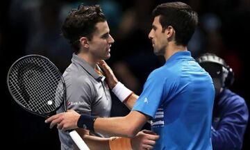 ATP Finals: Θρίαμβος Τιμ επί του Τζόκοβιτς στο ματς της χρονιάς! (highlights)