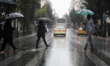 Καιρός: Ισχυρές βροχές και καταιγίδες - Πτώση της θερμοκρασίας