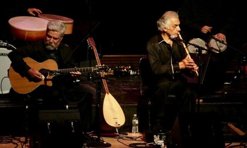 Δύση - Ανατολή: Omar Faruk Tekbilek & Brian Keane στο Παλαί Γαλατσίου