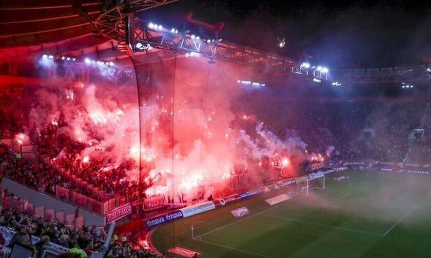Super League: Σε απολογία, λόγω υβριστικών συνθημάτων, κλήθηκε ο Ολυμπιακός