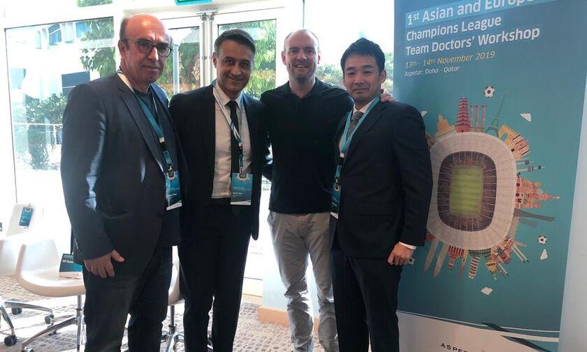 Ολυμπιακός: Μοναδικός εκπρόσωπος στο Aspetar Clinique