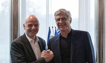 Η FIFA προσέλαβε τον Αρσέν Βενγκέρ