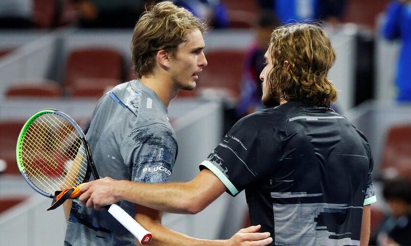ATP Finals: «Αέρας» στα ημιτελικά ο Τσιτσιπάς! (highlights)