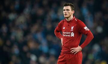 Ο Ρόμπερτσον φοβάται να προπονηθεί στην Λίβερπουλ λόγω του τραυματισμού του