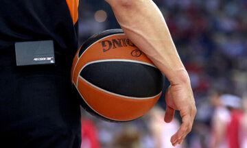 Οι διαιτητές της αναμέτρησης Ολυμπιακός-Ζαλγκίρις