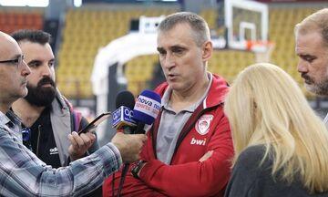 Κεμζούρα: «Έχουμε πίεση αλλά θέλουμε να κερδίσουμε και δουλεύουμε σκληρά»