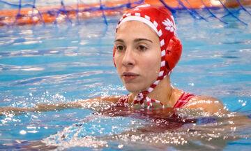 Ολυμπιακός - Εθνικός 15-3: Επέστρεψε στη δράση η Διαμαντοπούλου