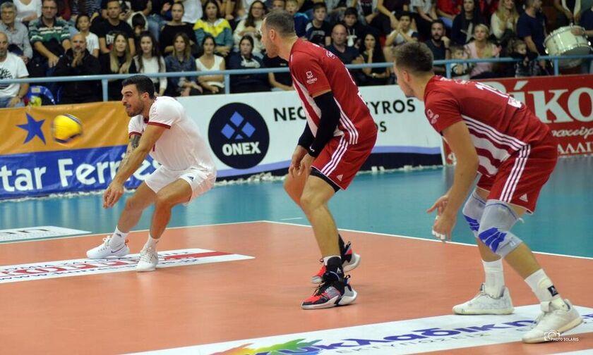 Φοίνικας-Ολυμπιακός 0-3:  Τον «σκότωσε» από το σερβίς