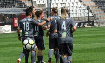 Ποδόσφαιρο Γυναικών Α Εθνική: Συνεχίζει αήττητος ο ΠΑΟΚ (αποτελέσματα, πρόγραμμα και βαθμολογία)