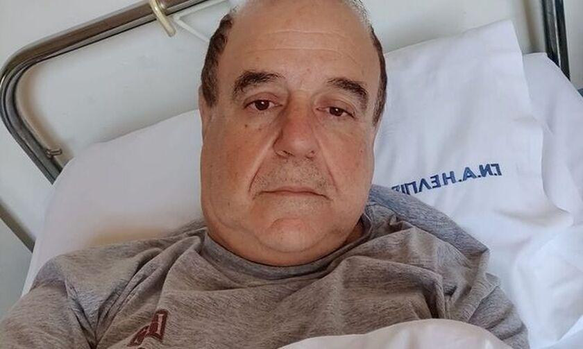 Εσπευσμένα στο νοσοκομείο ο Παύλος Χαϊκάλης