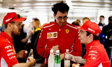 Σιγή ιχθύος στη Ferrari μετά τη σύγκρουση των δύο μονοθεσίων της
