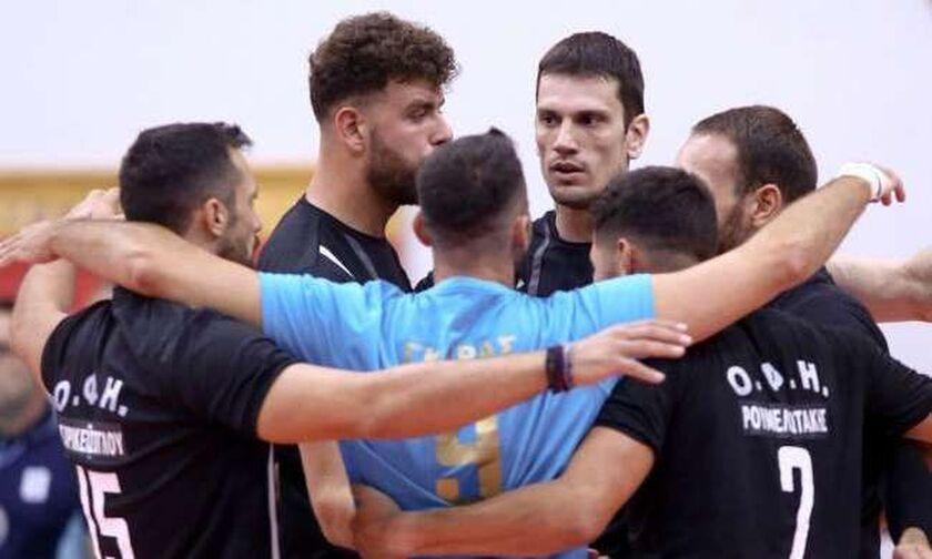 Volley League Ανδρών: Ιστορική νίκη για ΟΦΗ επί του Παμβοχαϊκού!