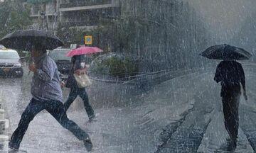 Καιρός: Δεν υποχωρούν οι βροχές - Αυξάνεται η ένταση από το απόγευμα