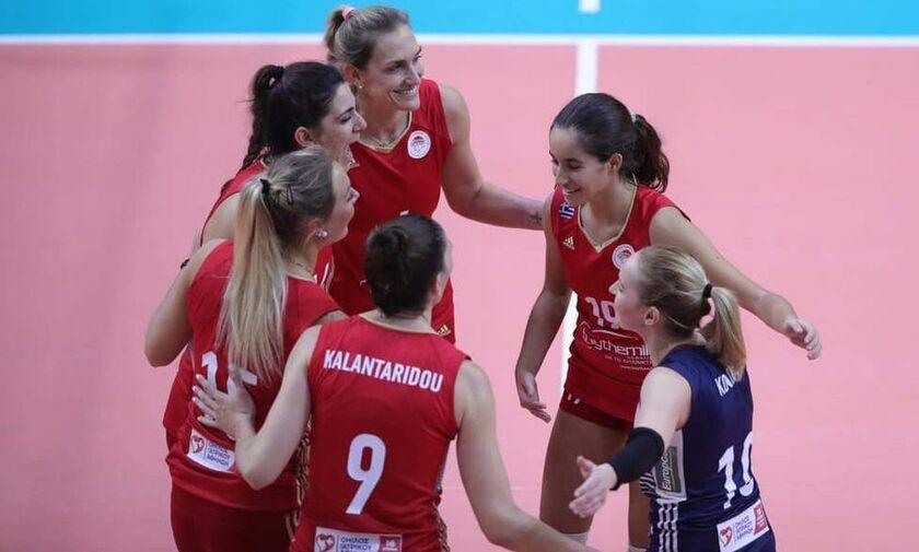 Ολυμπιακός - Πορφύρας 3-0: Με άνεση στους «32» του Challenge Cup