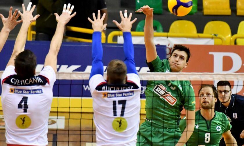 Παναθηναϊκός - Φοίνικας Σύρου 3-1: «Πράσινο» προβάδισμα για τους τελικούς