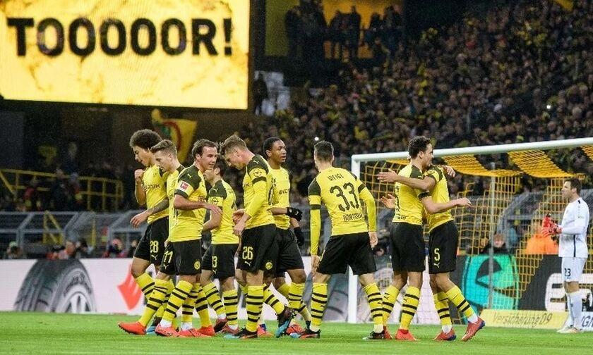 Bundesliga: Απίστευτη ματσάρα μεταξύ Ντόρτμουντ και Πάντερμπορν (3-3)! (highlights)