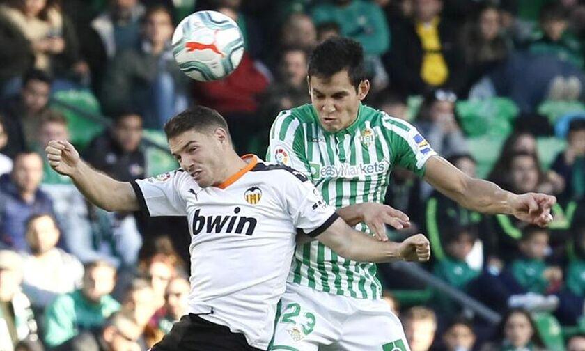 La Liga: Η Μπέτις στο 94΄ λύγισε 2-1 τη Βαλένθια (highlights)