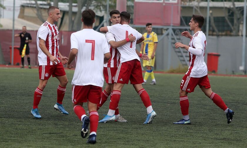 Super League K17: Ο Ολυμπιακός συνέτριψε με 7-1 τον Αστέρα Τρίπολης